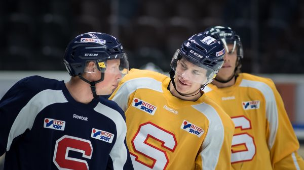 Johan Skinnars och Henrik Thegel. Foto: David Nilsson Hamne
