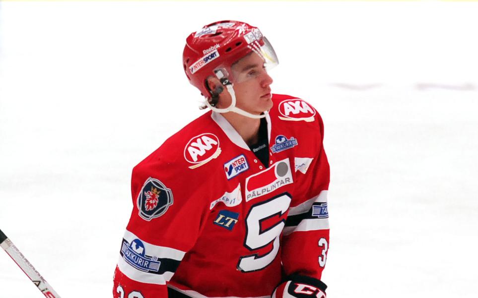 Emil Ekberg. Foto: Eliteprospects.se.