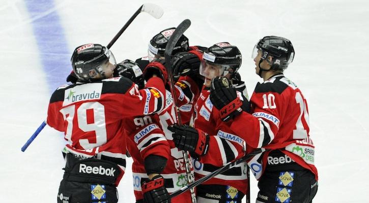 Malmö jublar hemma mot Djurgården 12/13.