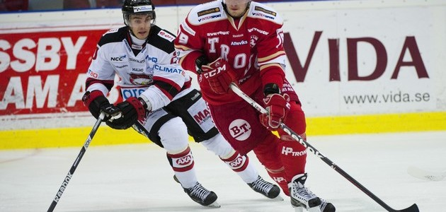 Troja i en match mot Malmö.