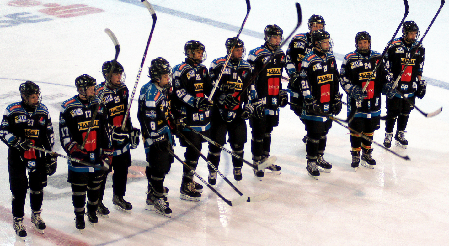 EHC Linz ungdomslag.