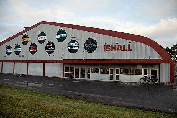 Plivit Trade-hallen, tidigare Tjusthallen, i Västervik.