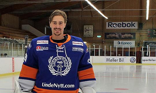 Alexander Sahlin, här i Lindens tröja.