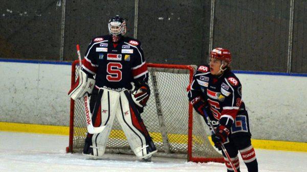 Lukas Klarström i J20-laget. Foto: Elin Lillsunde.