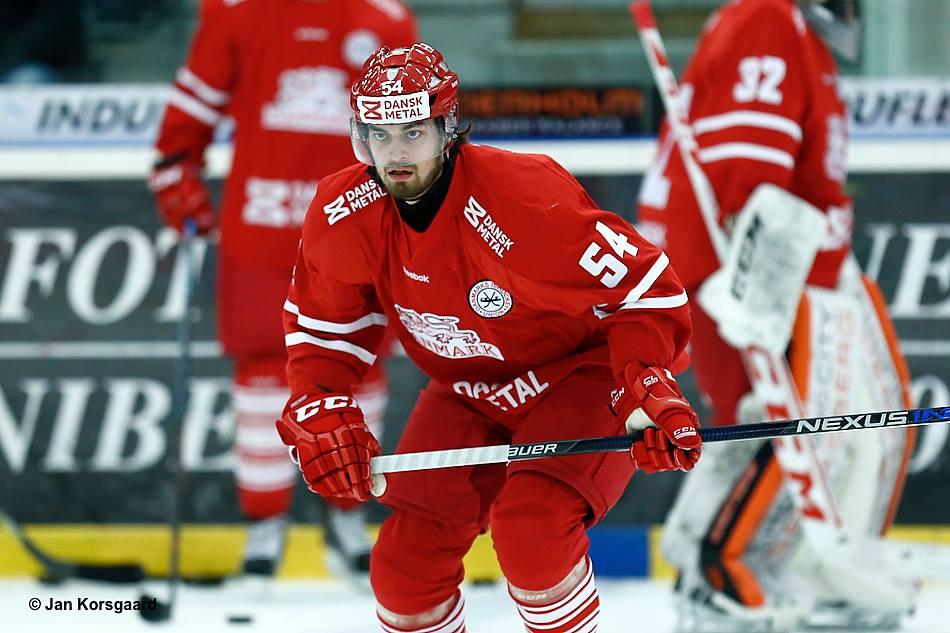 Felix Maegaard Scheel i landslaget. Foto: Jan Korsgaard.