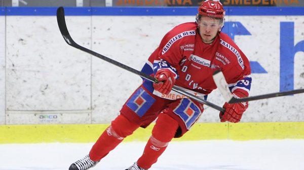 Marcus Lissäng. Foto: Huddinge Hockey.