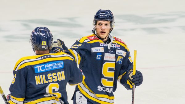 Henrik Nyberg och Robin Nilsson. Foto: David Nilsson Hamne.