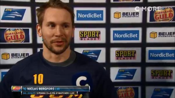 Niclas Bergfors i Djurgården.