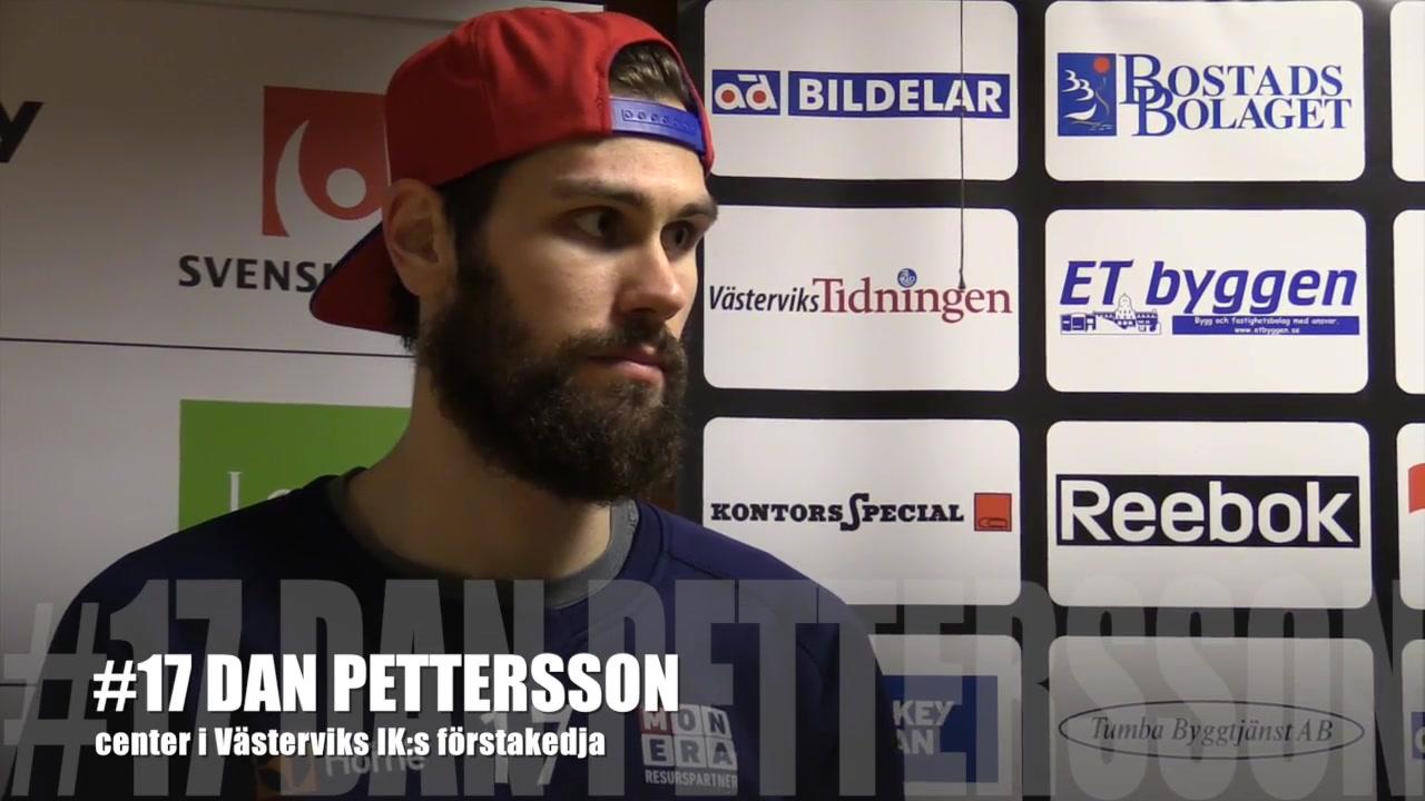 Dan Pettersson. Foto: VIK-TV.