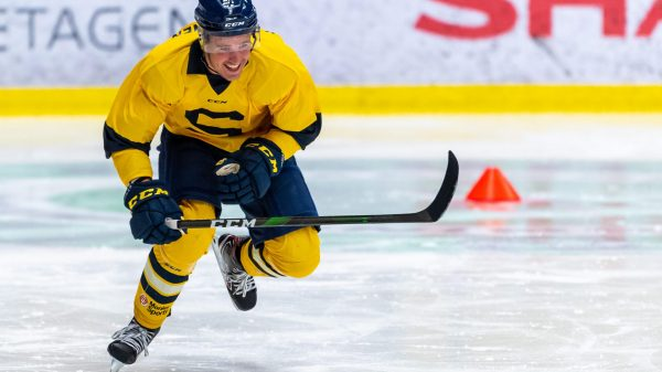 Rasmus Kahilainen under försäsongen. Foto: Per Eliasson.