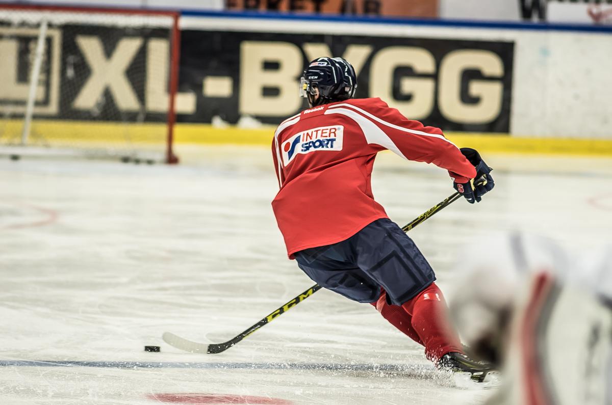 SSK-spelare under träning. Foto: David Nilsson Hamne