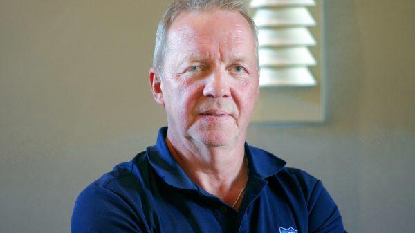Lenny Eriksson, tränare Karlskoga. Foto: Uppdragsport