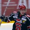 Jesper Frödén jublar efter sitt mål.