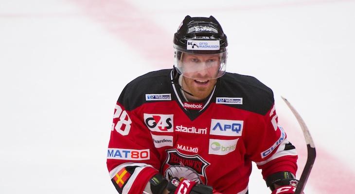 Jens Olsson. Foto: malmoredhawks.com.