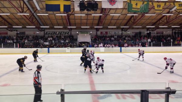Nedsläpp mellan AIK-SSK i Järfälla ishall.