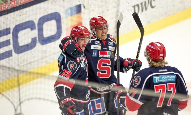 Måljubel i SSK. Foto: David Nilsson Hamne