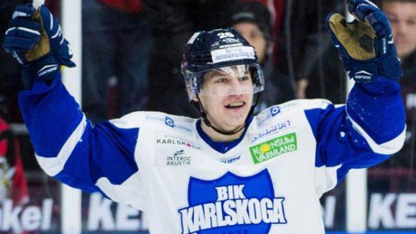 Anton Holm, här i Karlskoga.