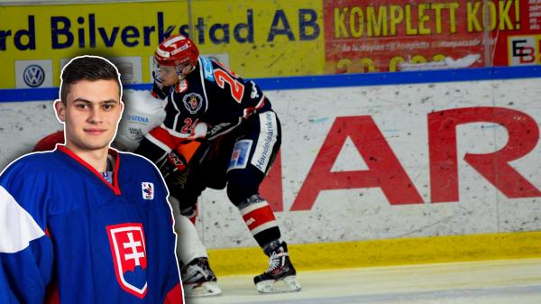 Ladislav Romancik, här i SSK:s tröja i en match med J20-laget. Foto: Elin Lillsunde.