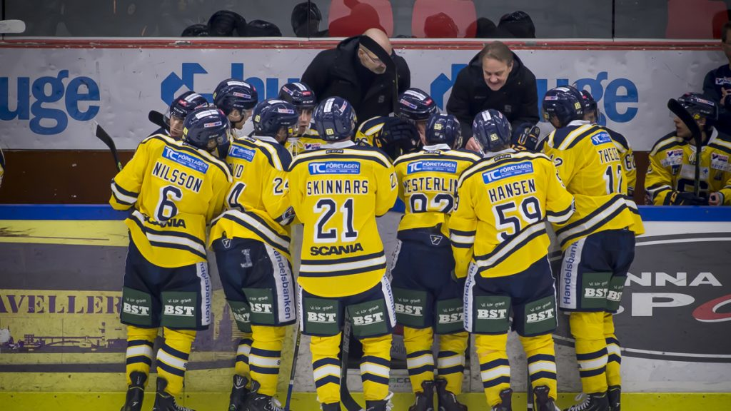 Time out i målfabriken. Foto: David Nilsson Hamne