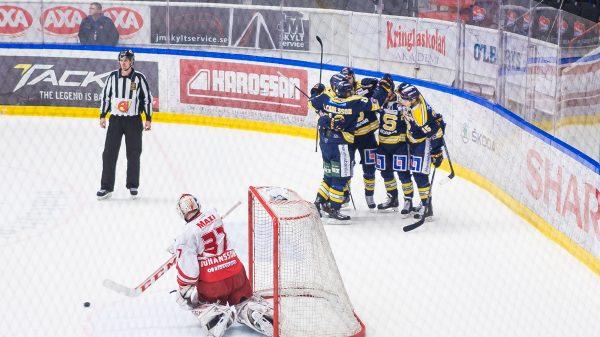 SSK målar mot Troja i kvalserien. Foto: David Nilsson Hamne