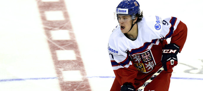 David Pastrnak i landslaget.