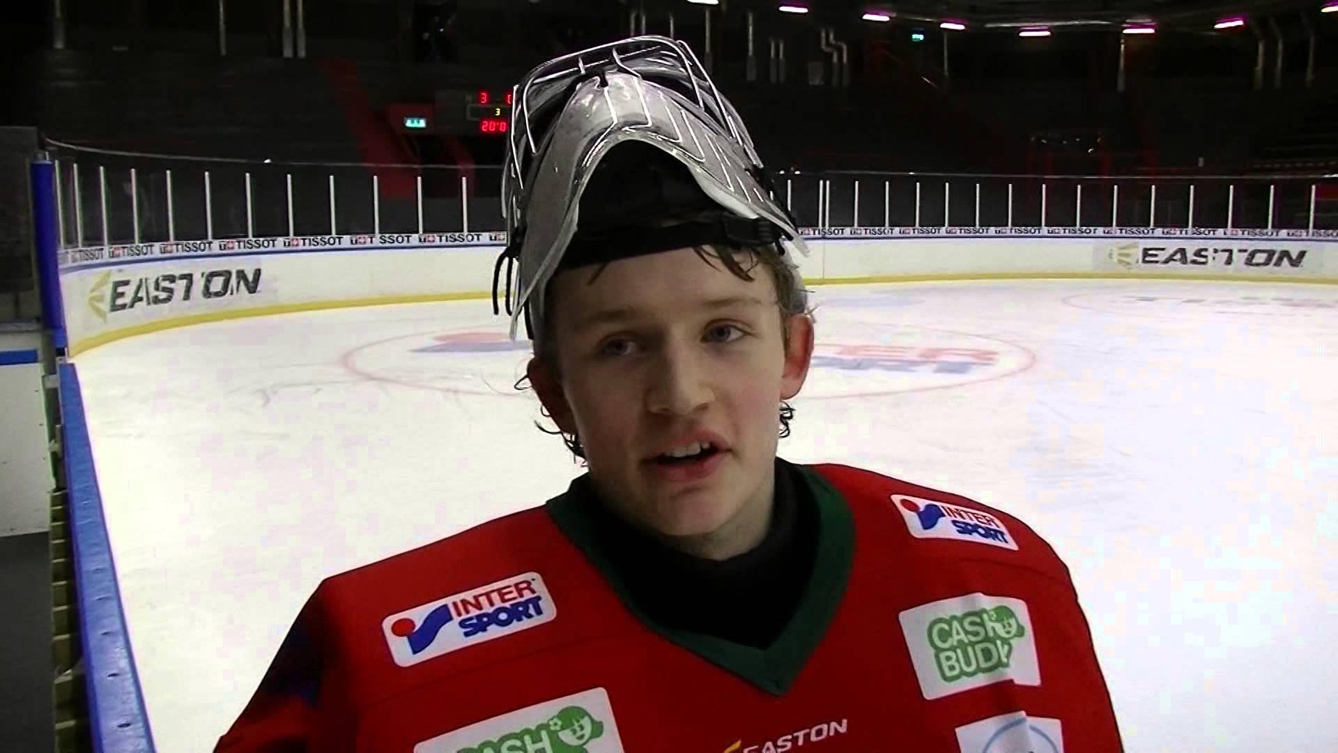 Isak Andersson, här i Frölunda.