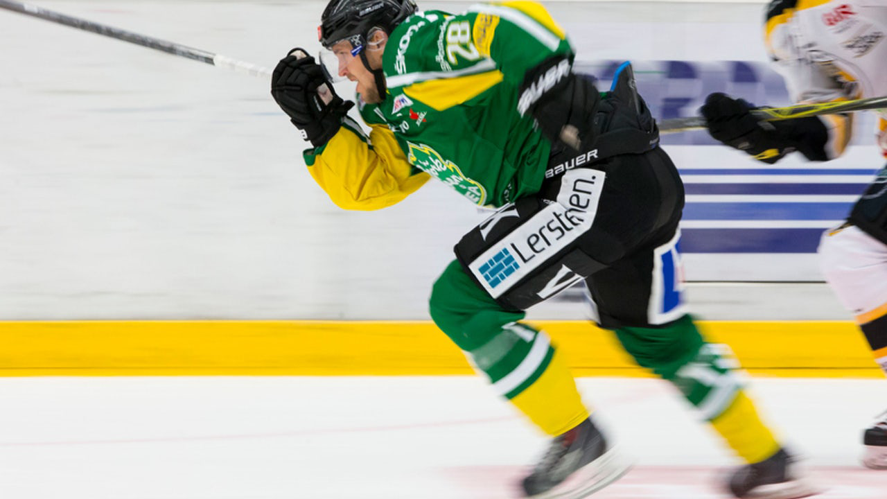 Lucas Sandström, här i Björklöven.