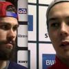 Dan Pettersson och Patrik Blomberg. Foto: VIK-TV.