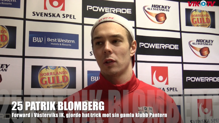 Patrik Blomberg. Foto: VIK-TV.