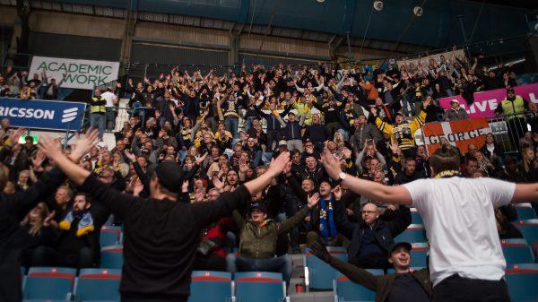 SSK-fans på Hovet.